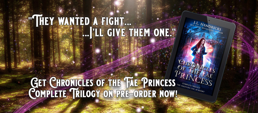 Sneak Peek #3 For Chronicles of the Fae Princess