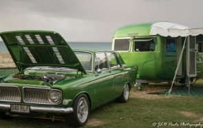 Matching ford and caravan combination