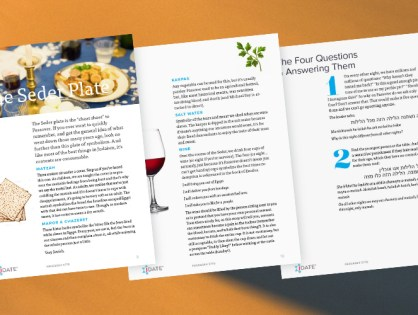 A JDate Passover: Free Haggadah eBook For Download