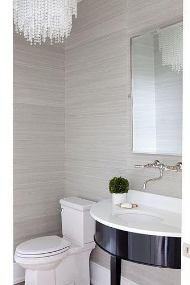 Woontrend: badkamer behang
