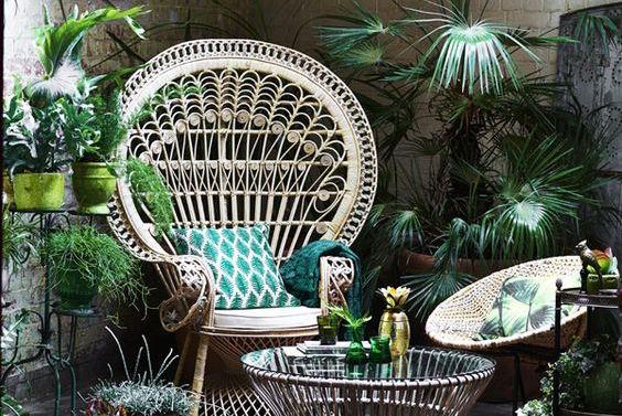 Tropische interieurs