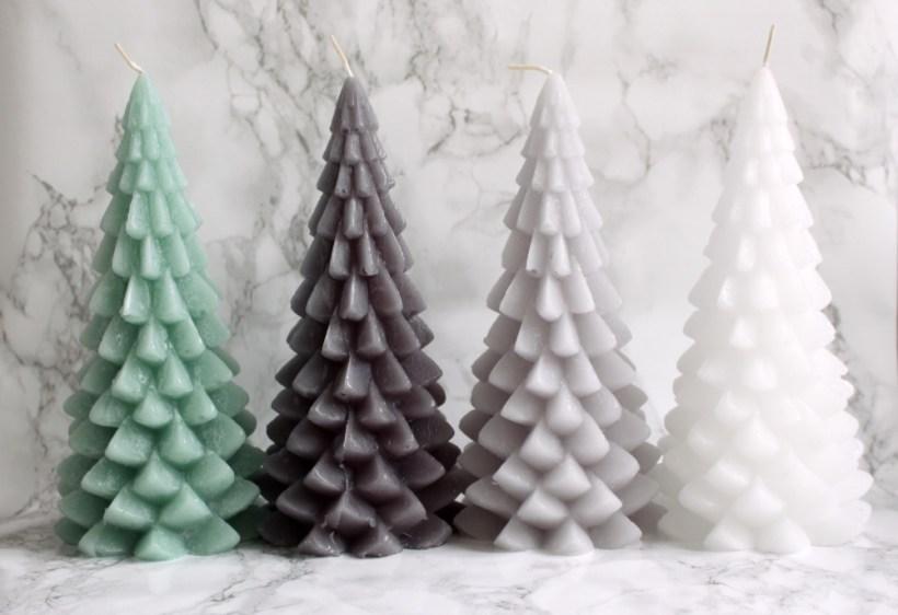 Kerstboom kaarsen