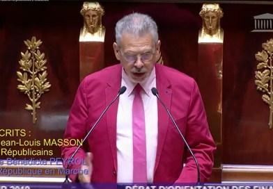 M.le député jean-louis MASSON critique fortement l'addiction du gouvernement à l'endettement