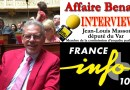 Affaire Benalla : Mon interview sur France info