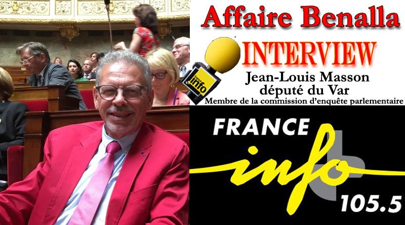Affaire Benalla : Mon interview sur France info