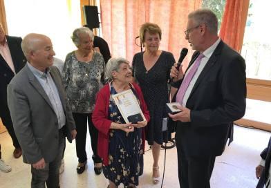 heureux anniversaire à Isabelle Brehaut 102 ans !