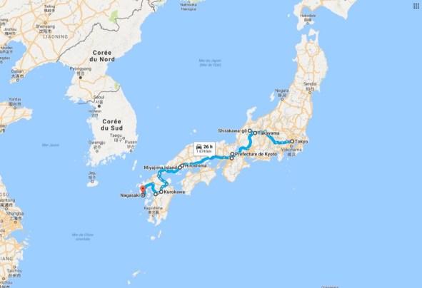 JLM Travel - Japon insolite - itinéraire