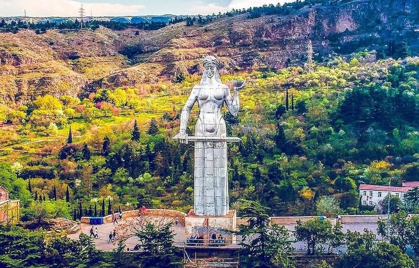Surprenante Tbilissi au coeur de la Géorgie