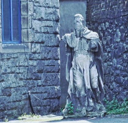 Random statue, Dublin, Ireland