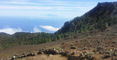 ~ Tenerife in the distance ~