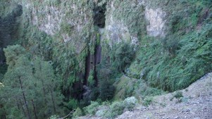~ view of the tunnels from across the canyon ~