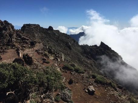 ~ clouds developing at Roque de los Muchachos ~