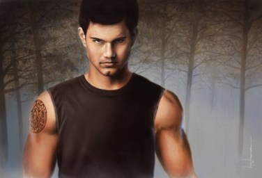 """""""Jacob Black"""" from the Twilight series"""