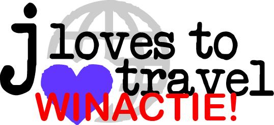 J Loves to Travel logo met winactie