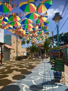 De straten van Porto de Galinhas