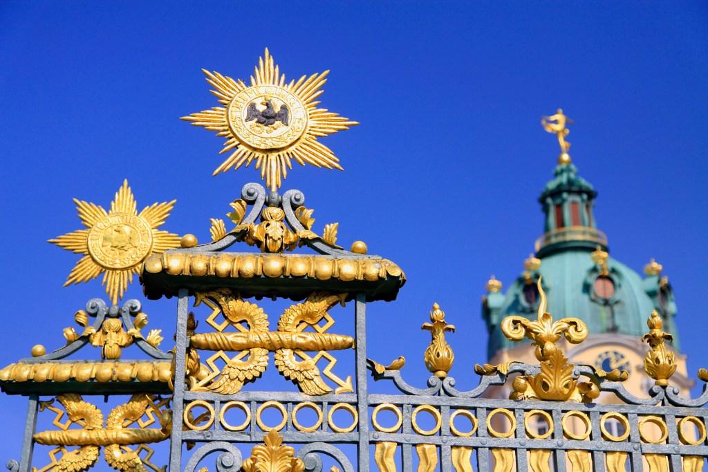 Rijk versierd hekwerk van Schloss Charlottenburg