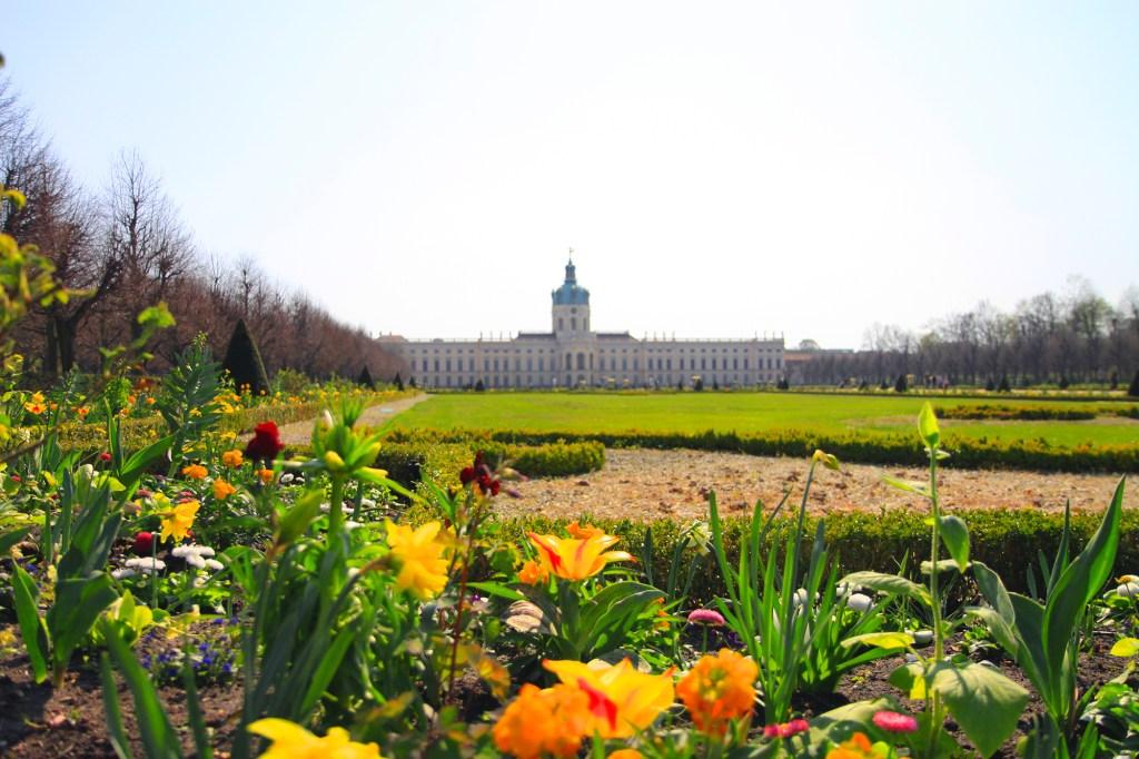 De tuin van Schloss Charlottenburg
