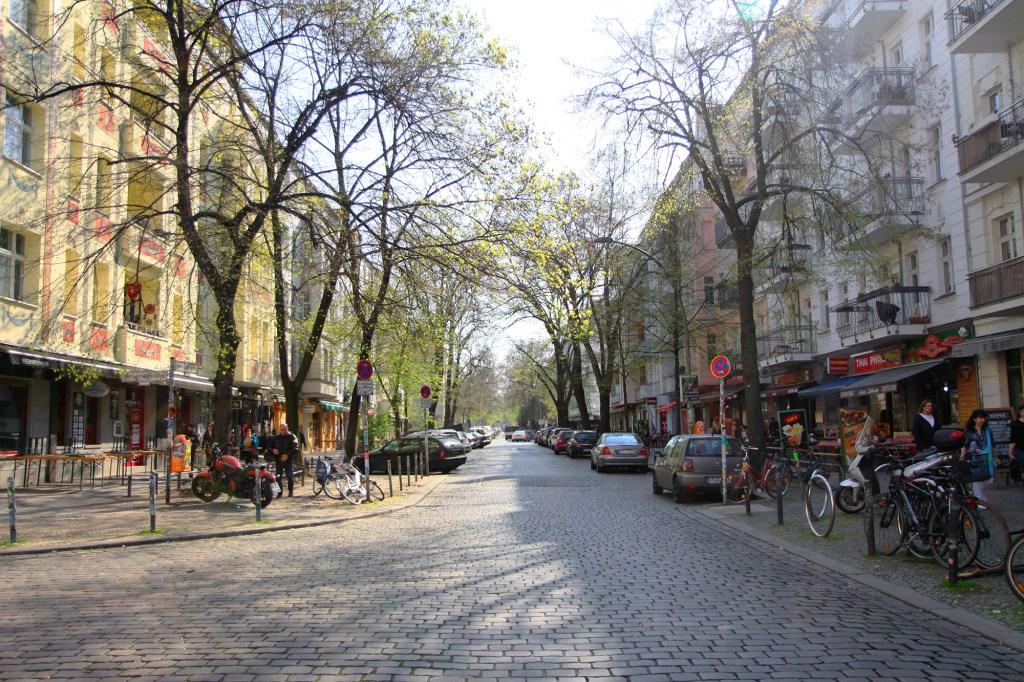 De zachte kant van de wijk Friedrichshain