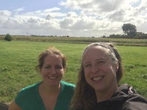 GR5 wandelen met Ingrid