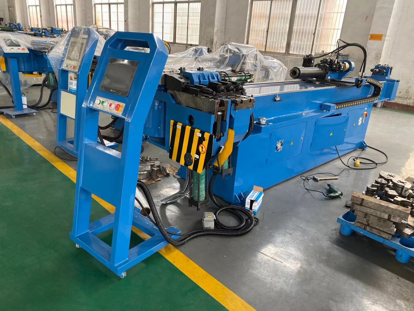 axis pipe bender gm 76cnc 2a 1s