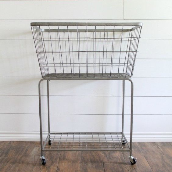 Metal Laundry Basket