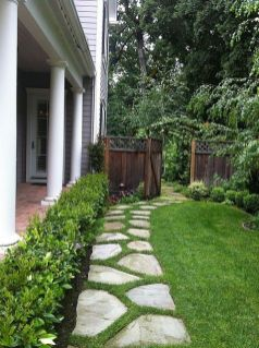 Outdoor garden path