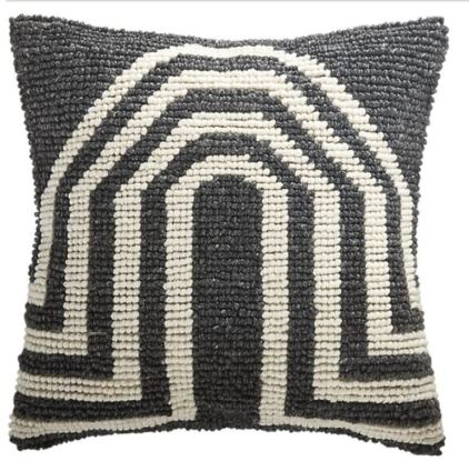 Arch Grey Pillow