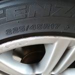 BMW323i(E90) タイヤ交換 ハンコック