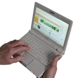Asus eee PC900 (mine is black)