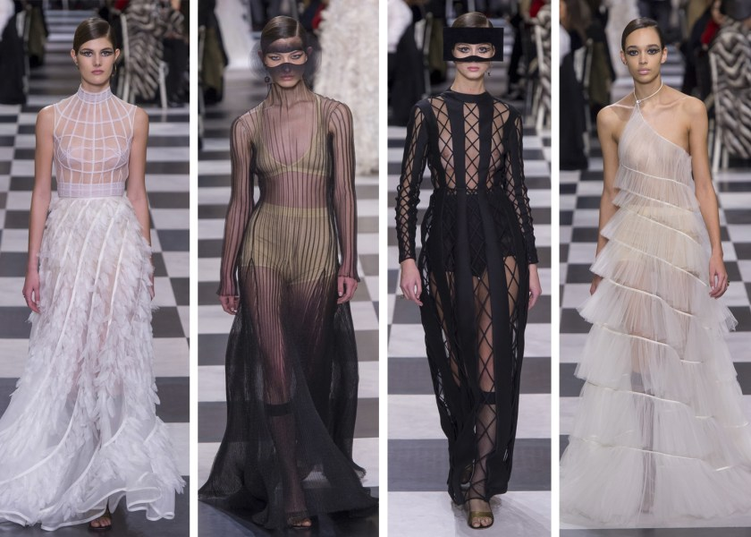 The Best Looks From Paris Haute Couture Fashion Week    mywhiteT Dior Spring Couture Paris Fashion Week 2018