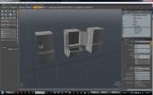 next, the concept design moved into a 3D environment