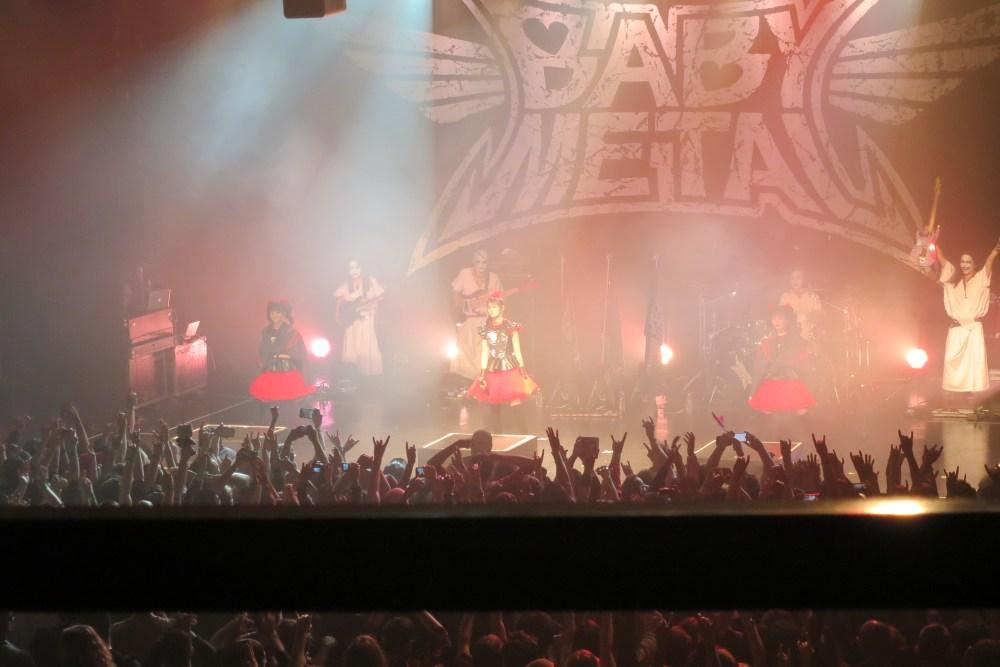 BABYMETAL Concert in Toronto. (4/4)