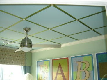 Nursery Ceiling Detail