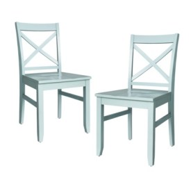 Target- Threshold™ Carey Dining Chair in Blue
