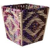 Target- Threshold™ Decorative Woven Storage Basket - Multicolored 13x15x13""