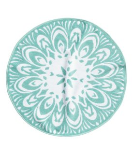 H&M- Bath Mat in Turquoise