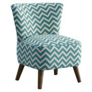 Target- Mid Century Modern Chair in Turquoise and White