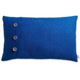 JCP- Design by Conran Linen Oblong Decorative Pillow in Blue