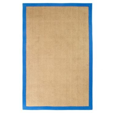JCP- Design by Conran Jute Rugs in Blue Border