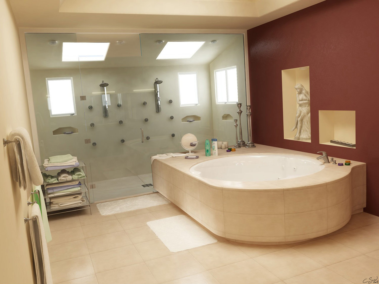 Bathroom remodeling with design. | Jmarvinhandyman on Nice Bathroom Designs For Small Spaces  id=98630