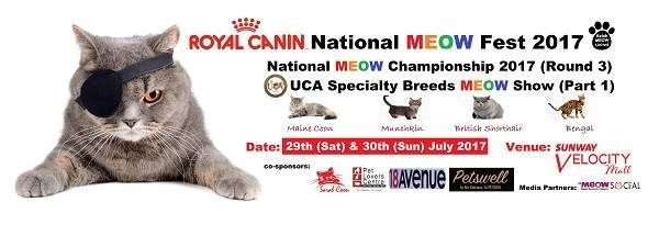 ROYAL CANIN NATIONAL MEOW FEST 2017 - PART 1