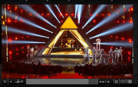 Image result for chris brown preforming with pyramid and the all seeing eye