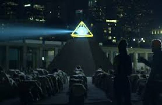 Image result for justin timberlake pyramid worshipping music video