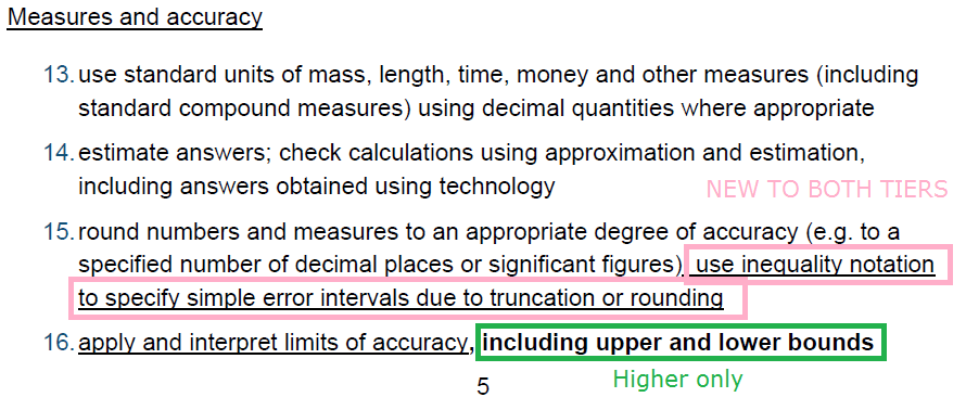 Gcse 9 1 New Content Error Intervals Justmaths