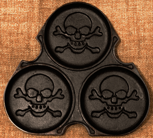 Pirate pancake griddle