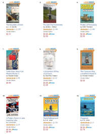 'A Pirate's Honor' cracked the Top 10 Best Selling Sea Adventures on Amazon earlier this week!