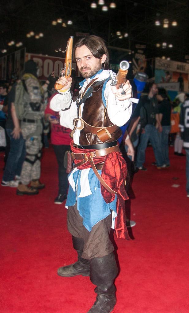 Edward Kenway cosplay