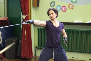 Stage combat First Musketeer