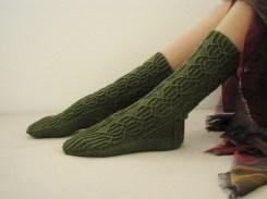 Tauriel socks // Knitty Winter 2014