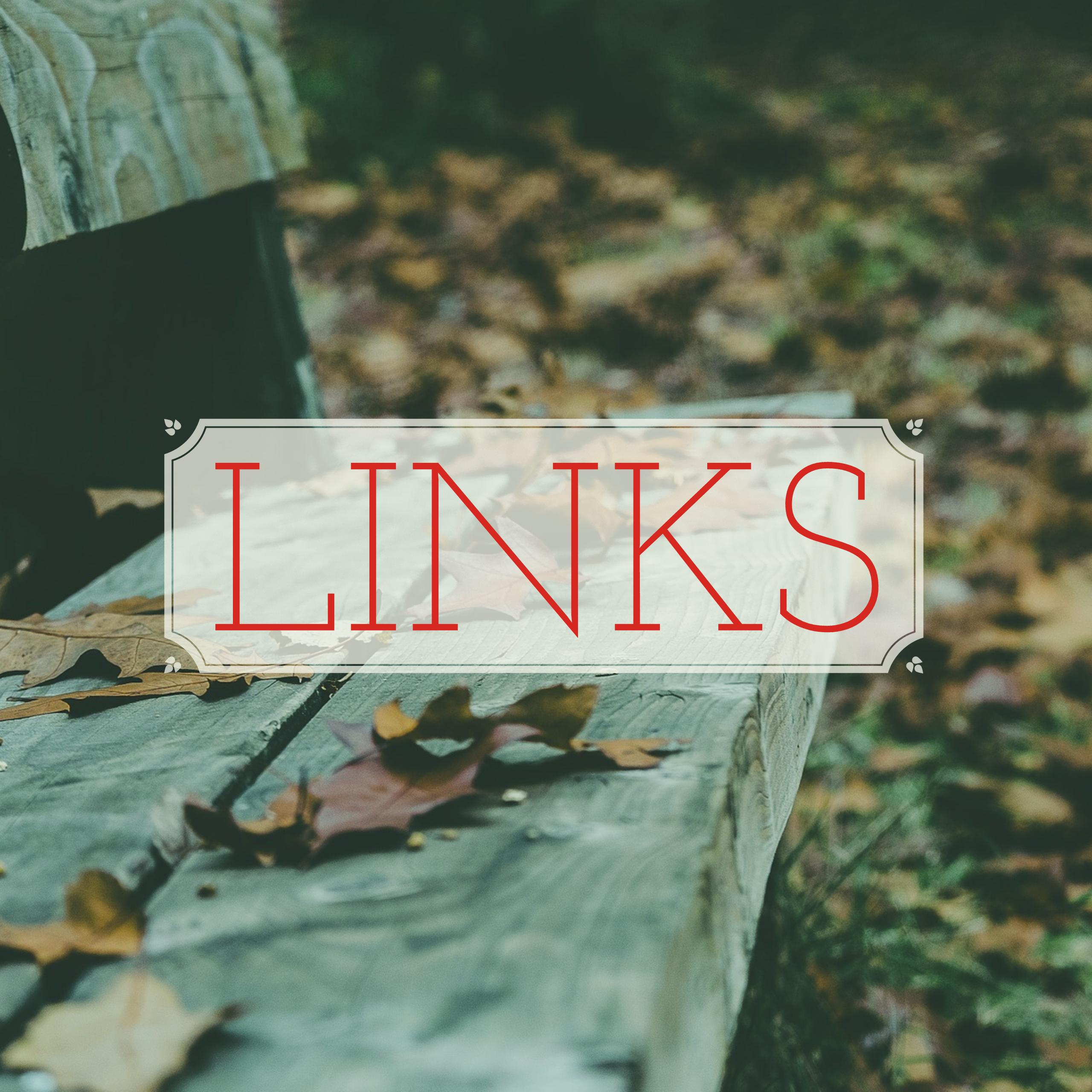 Link Roundup: Posts that have ministered to me lately